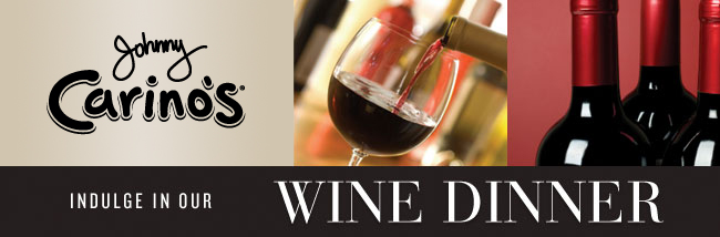 Johnny Carino's Wine Dinner